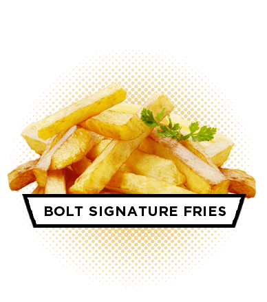 The Best French Fries - Bolt Burger