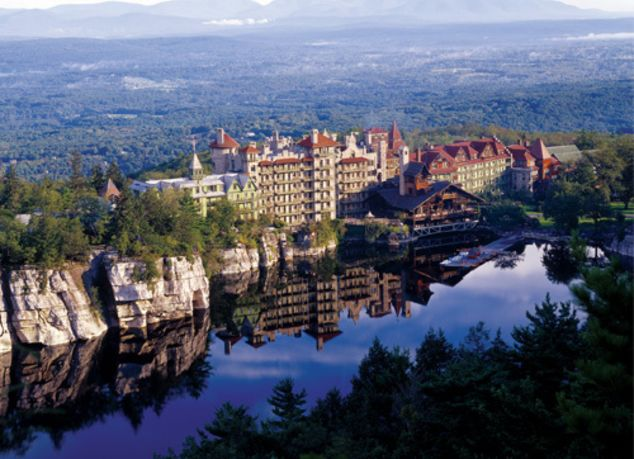Mohonk Mountain House Exterior