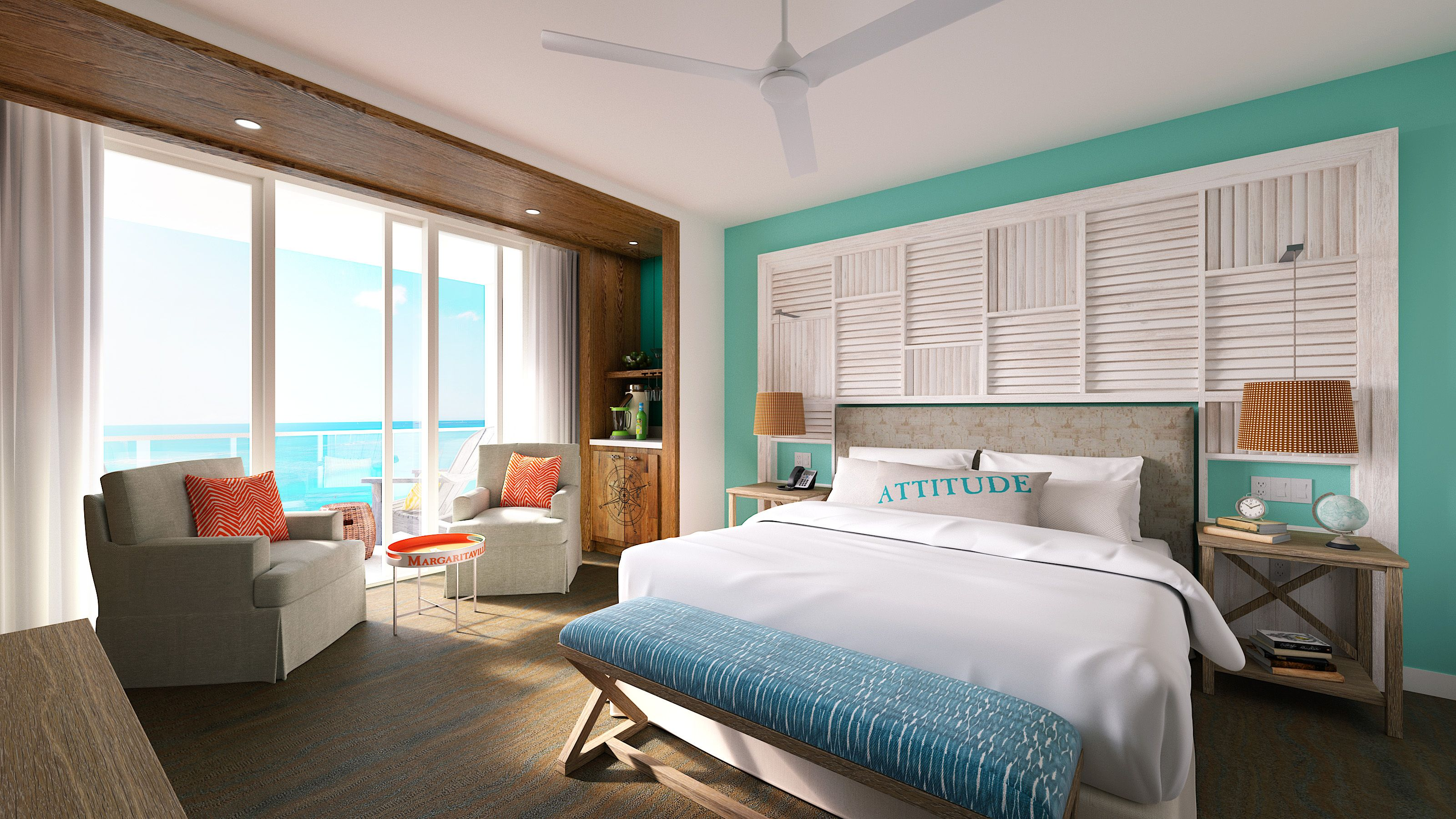 ADA Two Bedroom Ocean Front Suite (Hearing Impaired)